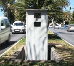Radar Fijo Avenida de Andalucía
