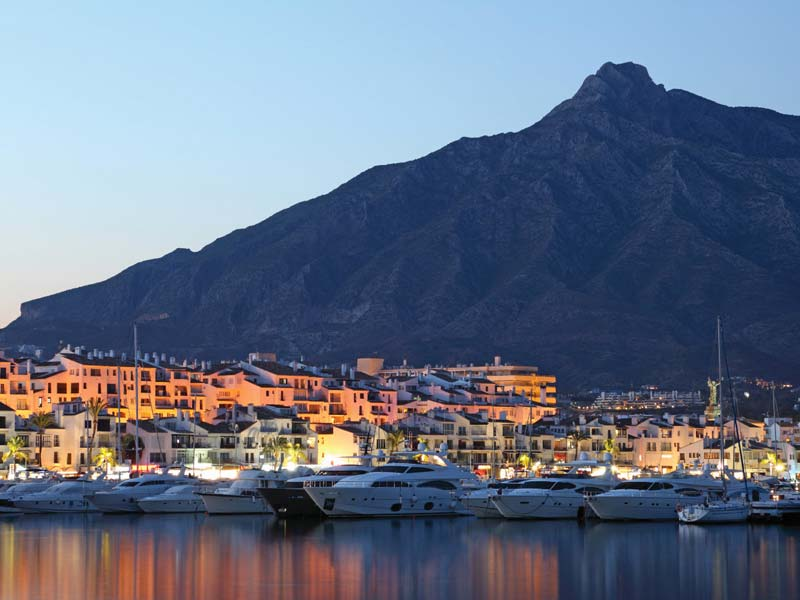 puerto banus location